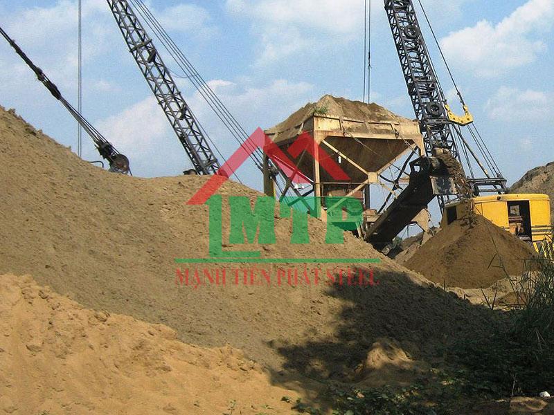 Bảng báo giá cát đá xây dựng tỉnh Long An