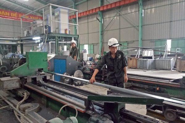 Sản xuất thép ống