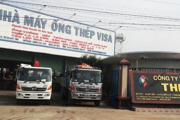 Nhà máy ống thép Visa